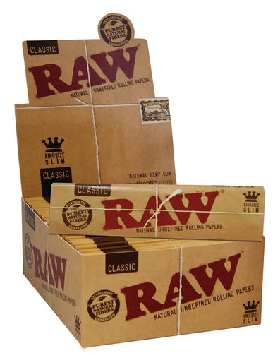 Raw Papers King Size Slim 50er Box